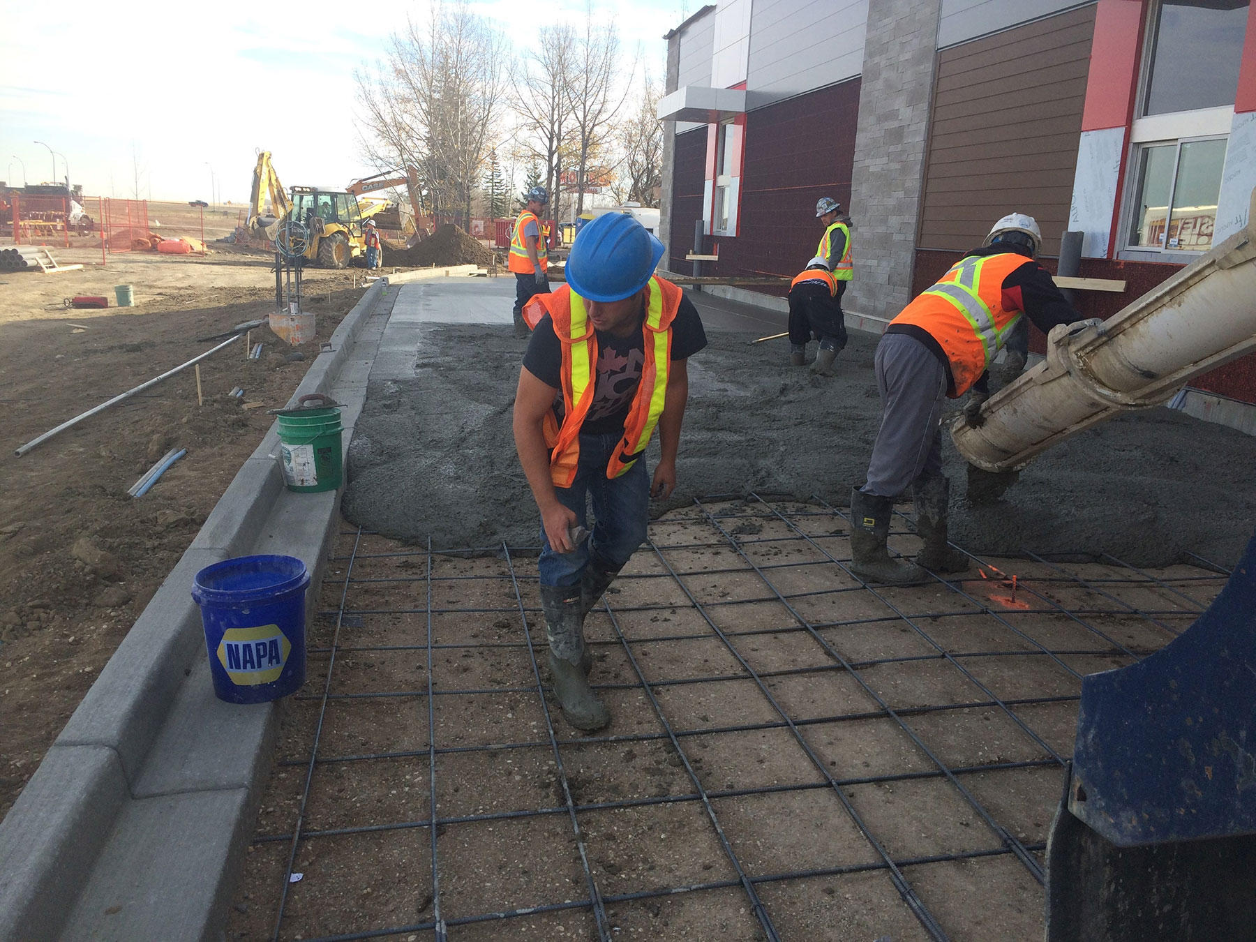 general concrete finishers workers