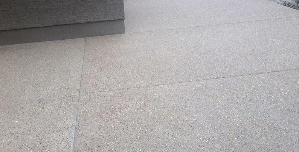 aggregate finish concrete